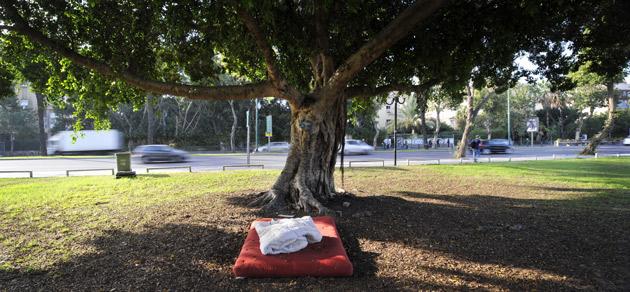 מחוסרי דיור - תל אביב